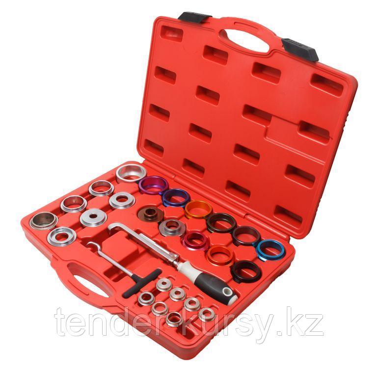 Forsage Набор приспособлений и оправок для снятия и установки сальников 27 предметов, в кейсе Forsage