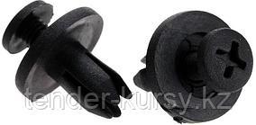 Forsage Клипса для крепления внутренней обшивки а/м Рено пластиковая (100шт/уп.) Forsage клипса