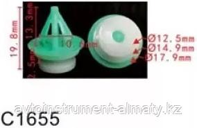 Forsage Клипса для крепления внутренней обшивки а/м Ленд Ровер пластиковая (100шт/уп.) Forsage клипса