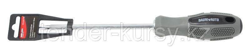 BaumAuto Отвертка переставная, с противоскользящей рукояткой 150мм, на пластиковом держателе. BaumAuto