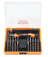 BaumAuto Отвертка ювелирная  с комплектом удлиненных бит,гибким удлинителем и пинцетом для высокоточных работ
