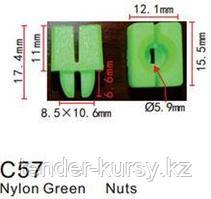 Forsage Клипса для крепления внутренней обшивки а/м универсальная пластиковая (100шт/уп.) Forsage клипса