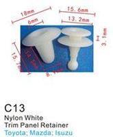 Forsage Клипса для крепления внутренней обшивки а/м Мазда пластиковая (100шт/уп.) Forsage клипса F-C13(Mazda)