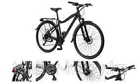 Forsage Велосипед MTB Stroller-X(Al6061;колесо700с;пер/зад покр40C; 27скоростейShimano Acera; вилкаRST