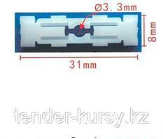 Forsage Клипса для крепления внутренней обшивки европейских а/м пластиковая (100шт/уп.) Forsage клипса