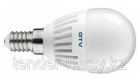 GTV Лампочка светодиодная E14, SMD2835, G45, 3000K, 8W, 160град, 640 lm GTV LD-SMG45B-70 15328