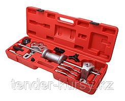 Forsage Молоток обратный для съема подшипников в наборе со сменными лапами и адаптерами 17 предметов, в кейсе