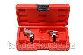 Partner Набор инструментов для снятия и установки гибких поликлиновых ремней 2 предмета, в кейсе Partner