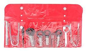 Forsage Набор приспособлений для демонтажа радиоприемников 20 предметов, в чехле Forsage F-920C1(F-918C1)