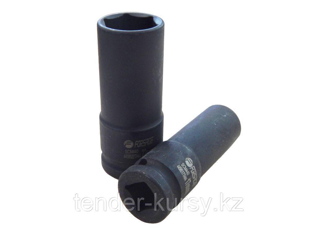 """Forsage Головка ударная тонкостенная 19мм 6 гр.(80 ммL)1/2""""сталь повышенной прочности 440SCM, Forsage"""