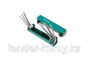 ROCKFORCE Набор ключей 6-гранных складной, 7 предметов(1.5, 2, 2.5, 3-6мм) ROCKFORCE RF-5076F 27348