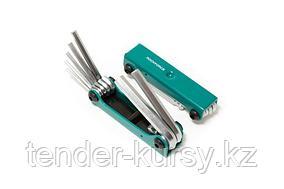 ROCKFORCE Набор ключей 6-гранных складной, 7 предметов(2.5, 3- 6, 8, 10мм) ROCKFORCE RF-5072F 27346