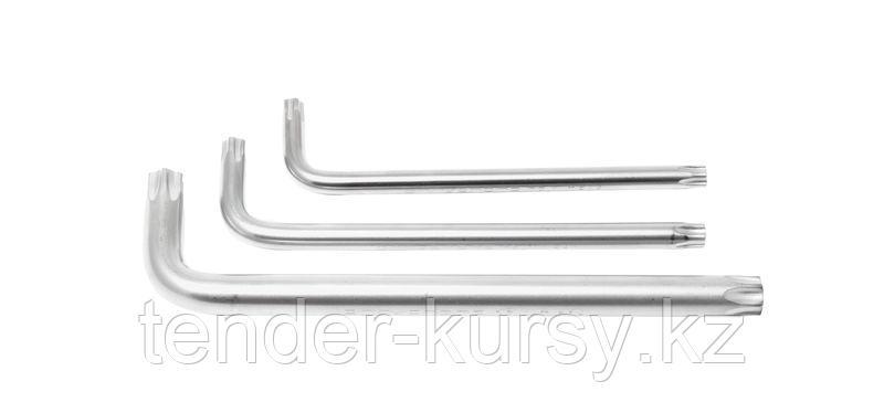 ROCKFORCE Ключ Г-образный 5-лучевой TS15 с отверстием ROCKFORCE RF-76F15 25555
