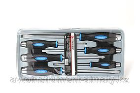 "Forsage Набор отверток силовых магнитных ""Profi"" S2, 6 предметов (PH:2x100, 3x150мм; SL 5.5х125, 6.5х150,"