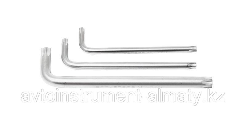 ROCKFORCE Ключ Г-образный 5-лучевой TS25 с отверстием ROCKFORCE RF-76F25 25556