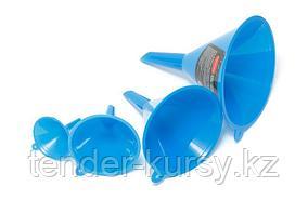 ROCKFORCE Набор воронок пластиковых, 4 предмета(Ø:45, 65, 90, 115мм,L:60, 90, 125,155мм) ROCKFORCE RF-887FU4