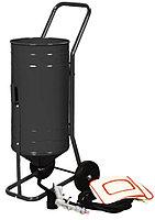 ROCKFORCE Передвижной пескоструйный аппарат инжекторного типа  (бак 19л, 170-566л/мин, 4-8,5атм) ROCKFORCE