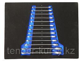 Forsage Набор ключей комбинированных трещоточных, 13 предметов (8-19, 21, 22мм) в ложементе Forsage F-K51325