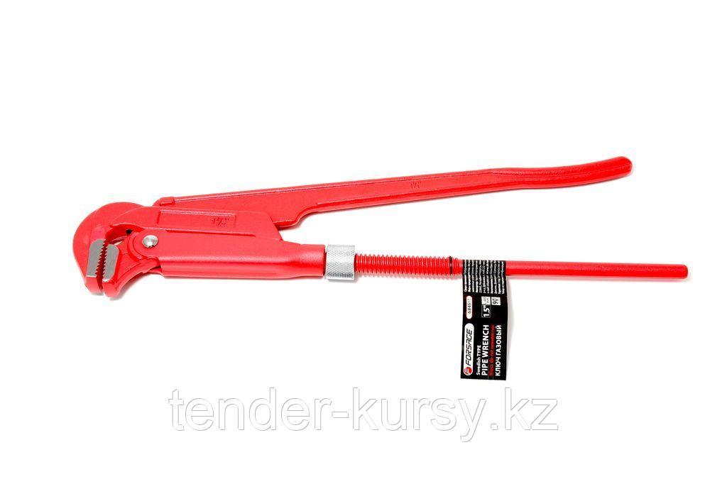 "Forsage Ключ газовый 1.5"" 90° (захват: 75мм) Forsage F-684S17 25982"