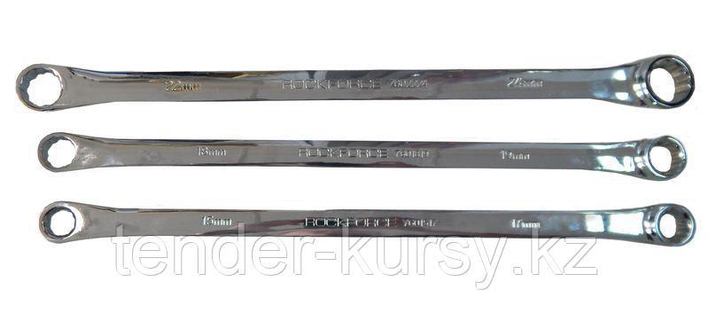 ROCKFORCE Ключ накидной экстра длинный 15x17мм ROCKFORCE RF-7601517 25618
