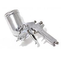 Partner Краскораспылитель с боковым металлическим бачком (400мл, 2.5мм, 3.5 bar, 85-113 л/мин, присоед. резьба