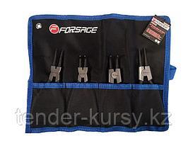 Forsage Набор съемников стопорных колец 4 предмета(L-140мм), на полотне Forsage F-50406A 47243