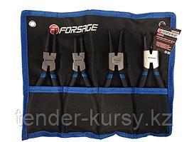 Forsage Набор съемников стопорных колец, 4 предмета(L-200мм), на полотне Forsage F-50408A 47244