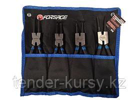 Forsage Набор съемников стопорных колец, 4 предмета(L-230мм), на полотне Forsage F-50409A 47245