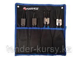 Forsage Набор съемников стопорных колец, 4 предмета(L-280мм), на полотне Forsage F-60411A 47250