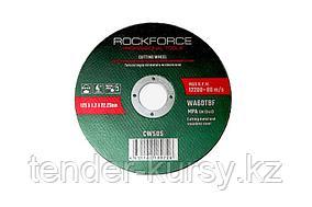 ROCKFORCE Круг отрезной по металлу 115x3.2x22.23мм ROCKFORCE RF-CW104 29630