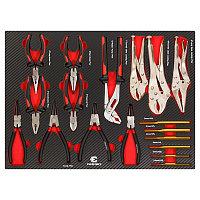 Everforce Набор шарнирно-губцевого инструмента 18 предметов(утконосы,бокорезы,пассатижи,съемники ст-х