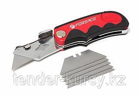 Forsage Нож универсальный складной со сменным лезвием, в блистере Forsage F-5055P43A 25638