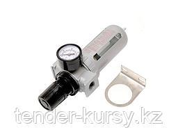 """Forsage Фильтр влагоотделитель c индикатором давления для пневмосистемы 1/4""""(10bar температура воздуха"""