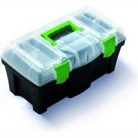 "PROSPERPLAST Ящик инструментальный пластиковый  18""(460х250х220мм, вкладыш органайзер 425х200х45мм)"