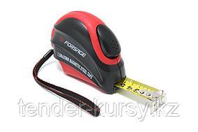 Forsage Рулетка 5мх25мм (магнитный зацеп, автоблокировка, двухкомпанентный корпус), в блистере Forsage