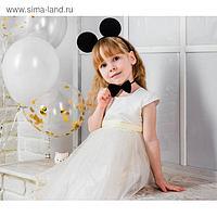 Карнавальный костюм «Лучше всех», ободок с ушками, бабочка, термонаклейка, хвостик