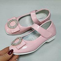 Розовые детские туфли на девочку