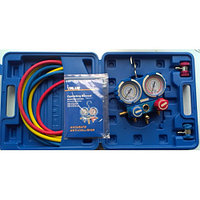 Манифолд (манометр) Value VMG-2-134A-B в кейсе для заправки авто кондиционера