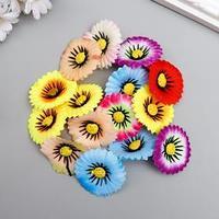 Цветы для декорирования 'Хризантема маскарад' набор 15 шт МИКС 3,5х3,5 см