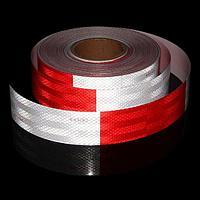Светоотражающая контурная лента EGP SH555 красно-белая 50mmX45,7m