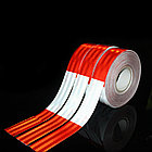 Светоотражающая контурная лента EGP SH555 красно-белая 50mmX45,7m, фото 2