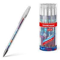Ручка гелевая ErichKrause Patchwork 0,5 мм, синий стержень с рисунком (комплект из 24 шт.)