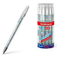 Ручка гелевая ErichKrause Emerald Wave 0,5 мм, синий стержень с рисунком (комплект из 24 шт.)