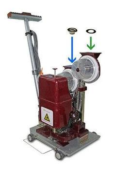 Автоматический станок для пробивки люверсов 12мм ПН