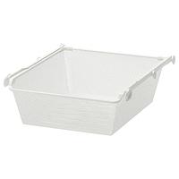 Сетчатая корзина с направляющими КОМПЛИМЕНТ белый 50x58 см ИКЕА, IKEA