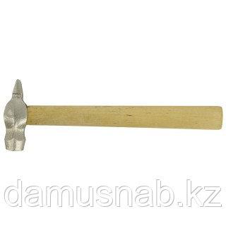Молоток слесарный 500г, круглый боек, деревянная рукоятка Россия