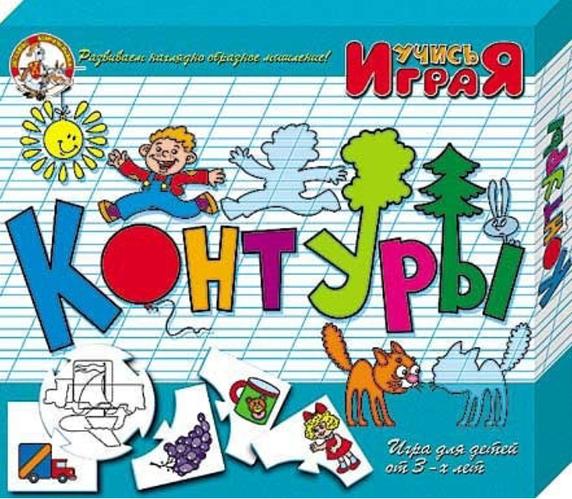 """Дидактический пазл """"Контуры"""" (серия """"Учись играя!"""")"""