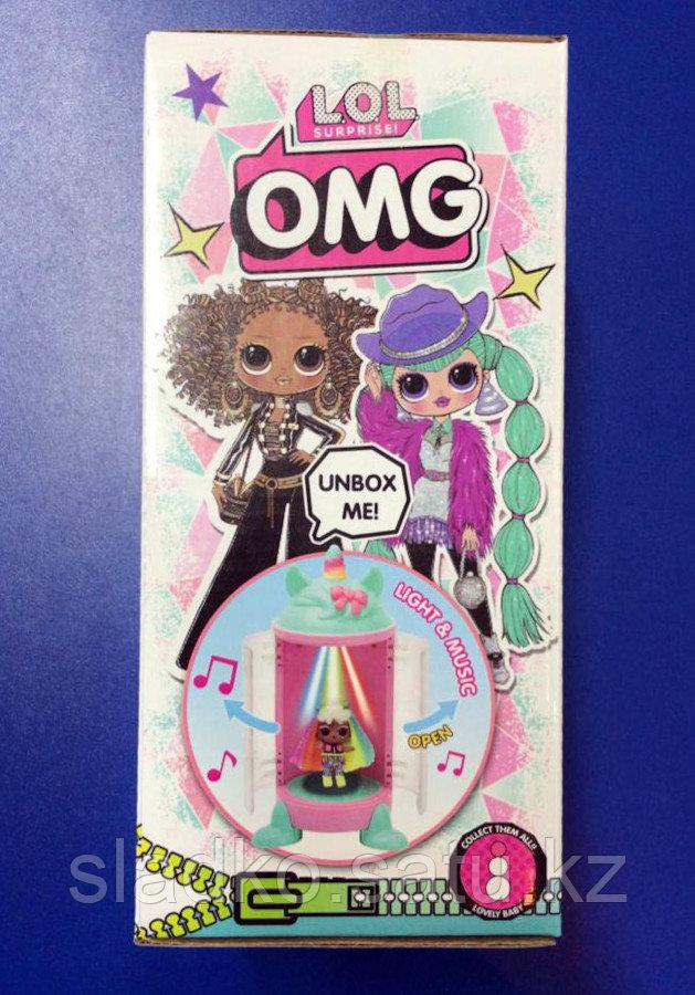 Игрушка LOL Surprise кукла пупс-сюрприз в капсуле в коробке ракета 22х12 см - фото 2