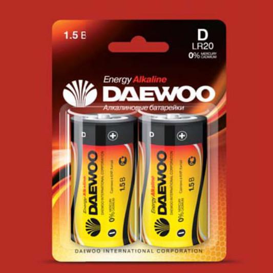 Батарейки DAEWOO LR20EA-2B