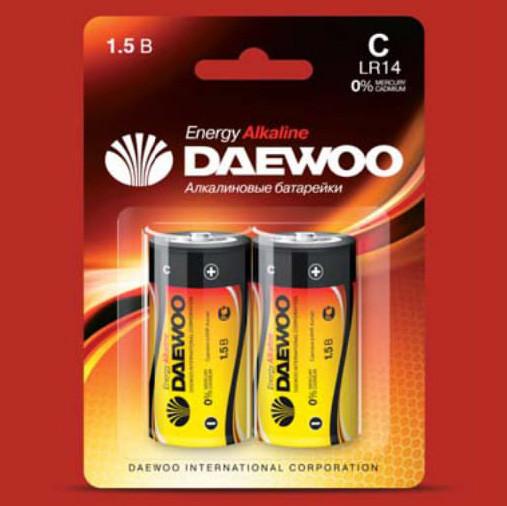 Батарейки DAEWOO LR14EA-2B